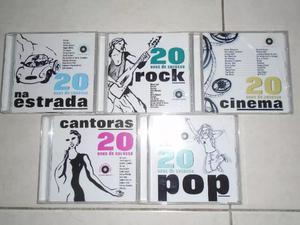 Cds de música coleção 20 anos de sucesso (lote)
