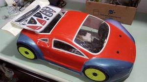 Chassis automodelo 1/8 onroad igt8 pro