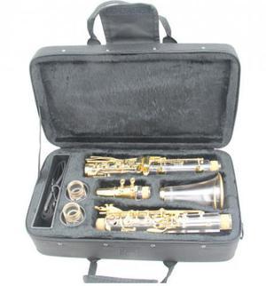 Clarinete, clarinet ou clarineta 17 chaves transparente