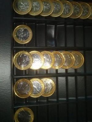Coleção de moedas comemoracoes