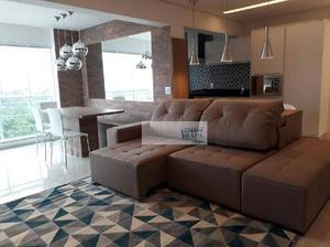 Condomínio alto padrão - mobiliado - 66m2 - 1 suíte, 1