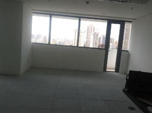 Conjunto comercial novo, 79m2, área construda, 2 vagas,