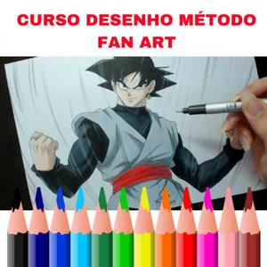 Curso desenho método fan art