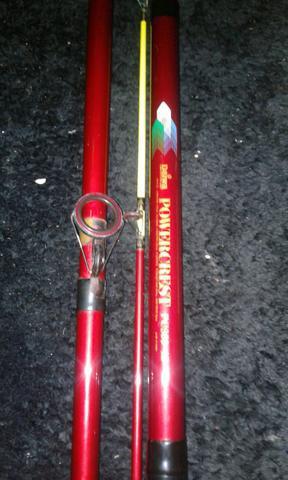 Kit pesca e vara de pesca de praia daiwa pc 300-52