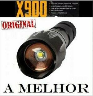 Lanterna tática x900 original (a melhor)