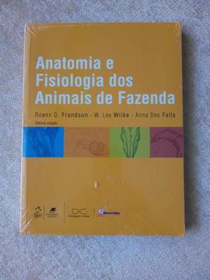 Livro anatomia fisiologia dos animais da fazenda