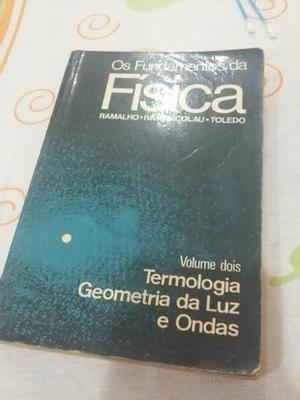 Livros de física. relíquia
