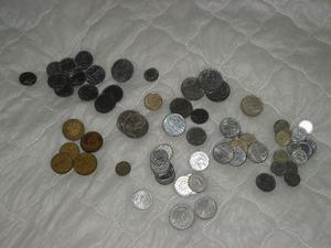Lote moedas antigas brasileira