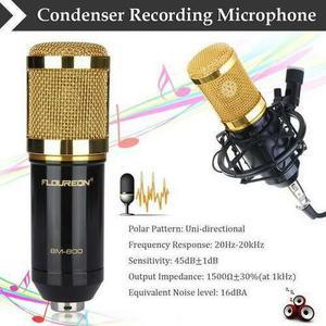 Microfone condensador bm - 800 ? preto e rosa