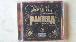 Pantera - oficial live: 101 proof