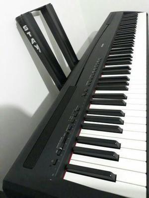Piano digital yamaha p95 black pouco uso conservado