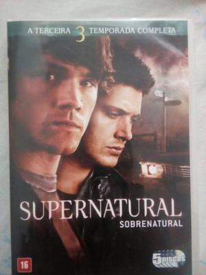 Série supernatural 3° temporada completa