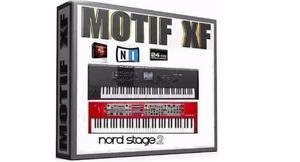 Transforme seu teclado: kontakt 5.5+motif xf+nord
