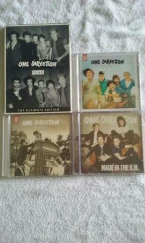 Vendo cd's originais da one direction