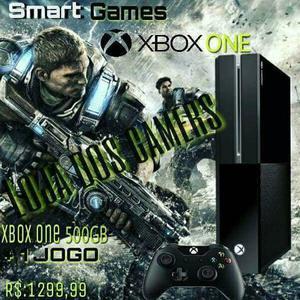 Xbox one fat 500g + 1 controle + 1 jogo