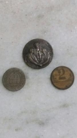 3 moedas extra antigas