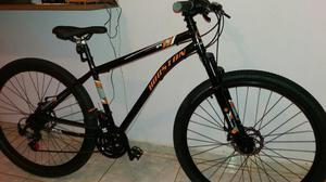 Bicicleta aro 29 houston discovery com freio a disco,