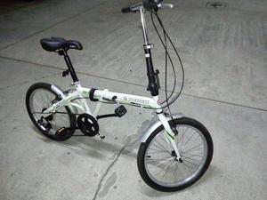 Bicicleta dobrável aro 20 track shimano