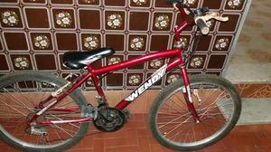 Bicicleta com pouco tempo de uso 180,00
