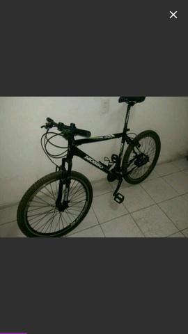 Bicicleta mosso aro 26+capacete para bike