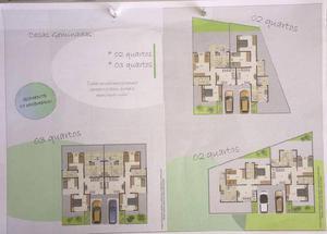Casa, centro, 2 quartos, 1 vaga