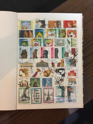 Cédulas, selos e moedas - grande coleção