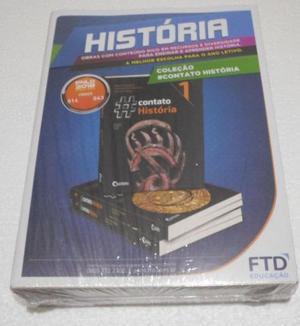 Coleção contato história - ensino médio - 3 volumes