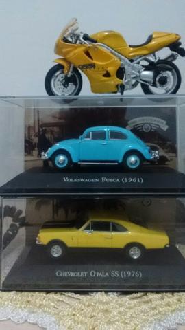 Coleção carrinhos e moto