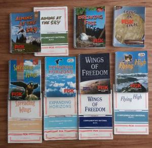 Conjunto de livros do fisk
