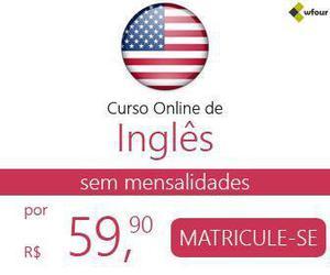 Curso de inglês online com certificado sem mensalidades