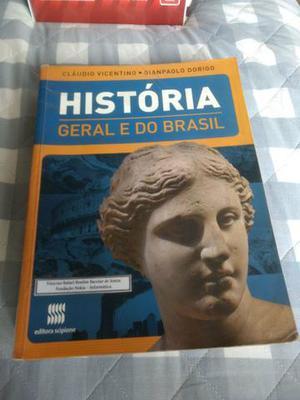 História geral do brasil vol único