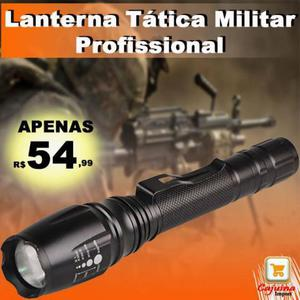 Lanterna tática militar profissional