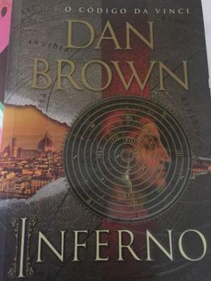 Livro inferno - dan brown 1ª edição