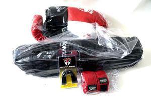 Luva de boxe, mais kit completo para muay thai
