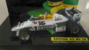 Miniatura lang formula 1 ayrton senna saudia williams ford