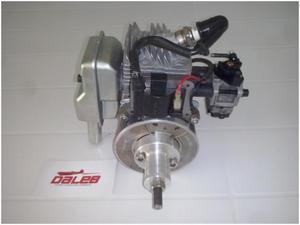 Motor daleb 25cc com muffer (a gasolina)