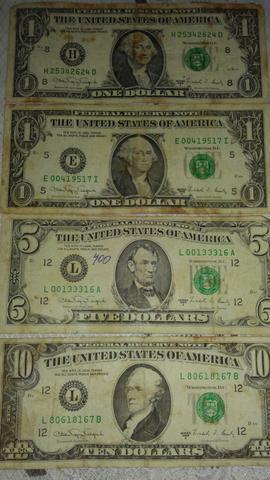 Notas de dólar (antigo) - raridade