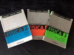 Os fundamentos da física ramalho 3 volumes
