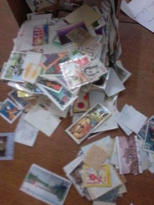 Selos e cartões telefonicos