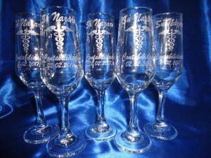 Taças brindes para eventos, formatura, casamento