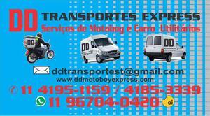 Serviços de motoboy e mudanças em geral