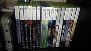 17 jogos xbox 360 lote