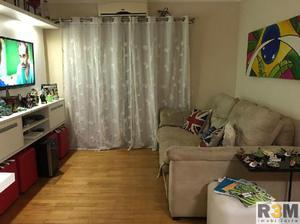 Apartamento no alto da boa vista com 77 m² a.u. com 2