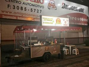 Barraca de hot dog