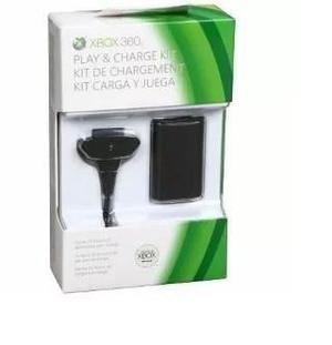 Bateria carregador controle xbox 360