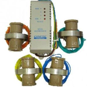Bóia eletrônica com led nível d'água e liga motor