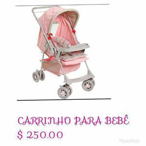 Carrinho de bebê, berço portátil e bebê conforto