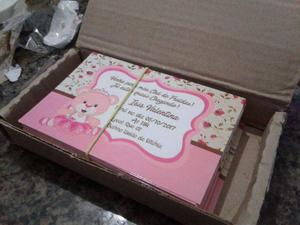 Convites de aniversários personalizados