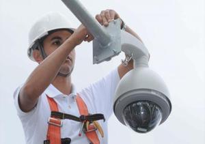 Curso de cercas câmeras e alarmes