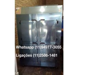 Geladeira comercial / 1,25 metro - 4 portas - total inox -